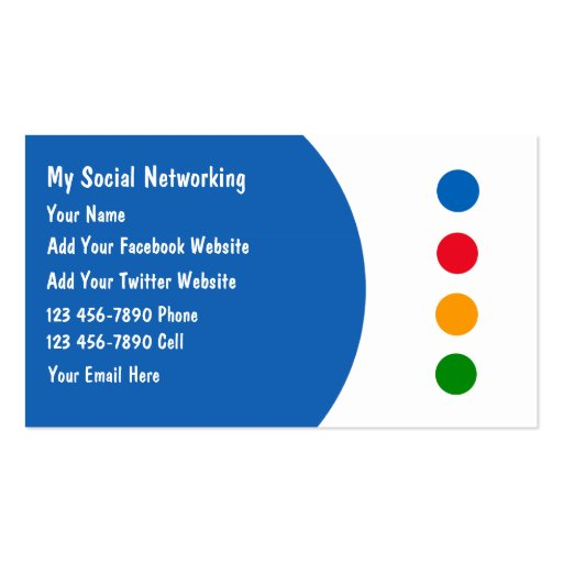 Networking Business Cards submited images