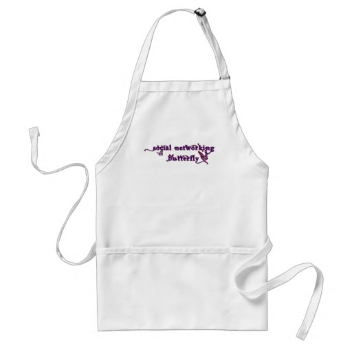 Social Networking Butterfly Aprons