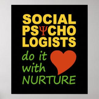 Social Psychologists poster