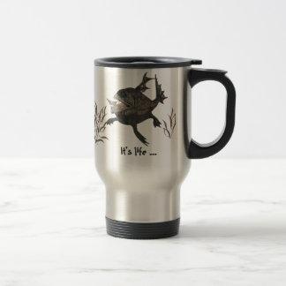 Social Rank 15 Oz Stainless Steel Travel Mug