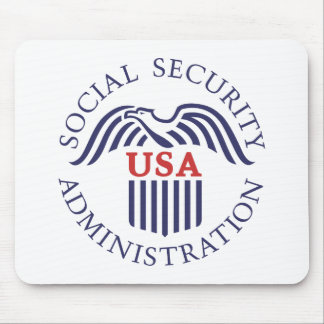 Social Security Administration Mouse Pad