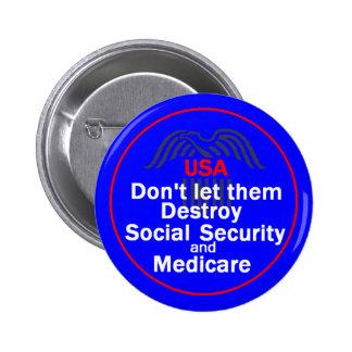 Social Security Button