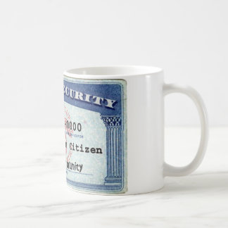 Social Security Card Coffee Mug