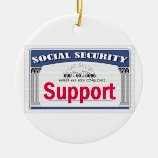 Social Security Ornament