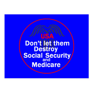 Social Security Postcard