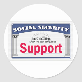 Social Security Sticker