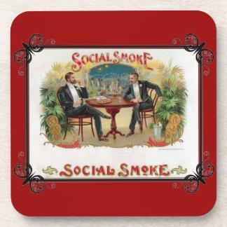 Social Smoke Coaster