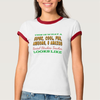 Social Studies Teacher   Awesome History Teacher T-Shirt