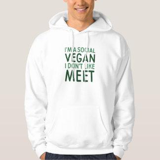 Social Vegan Hoodie