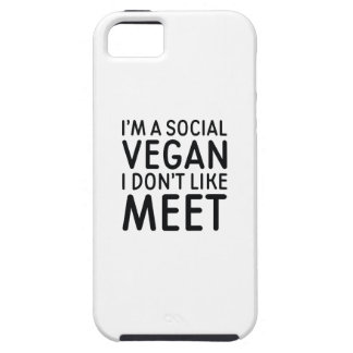 Social Vegan iPhone 5 Case