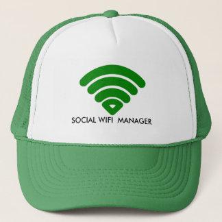 SOCIAL WIFI MANAGER  Custom Hats, Trucker Hats