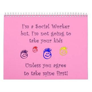 Social Work Humor Calendars