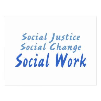 Social Work Postcard