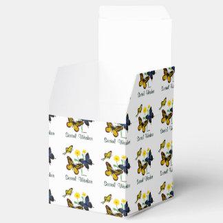 Social Worker Butterflies Party Favor Boxes
