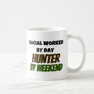 Social Worker by Day Hunter by Weekend Coffee Mug