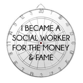 Social Worker Dartboard
