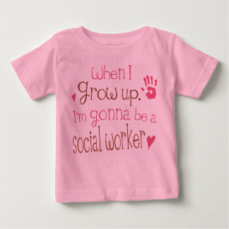 Social Worker (Future) Infant Baby T-Shirt