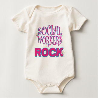 Social Worker Gifts Baby Bodysuit