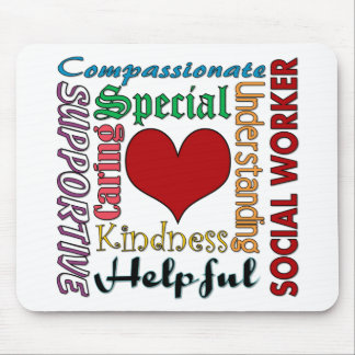 Social Worker Mouse Pad