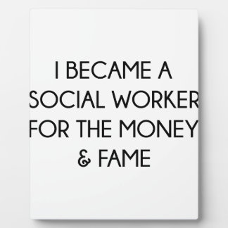 Social Worker Plaque