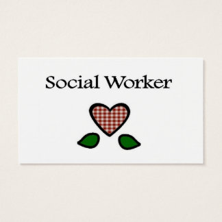 Social Work Business Card Templates By Worker Cards And