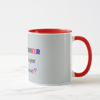 Social Worker Super Power Mug