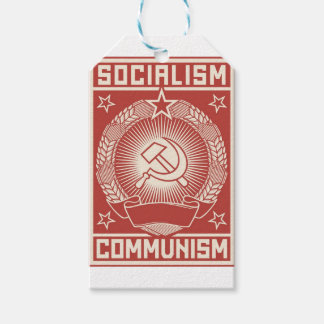 Socialism And Communism Gift Tags