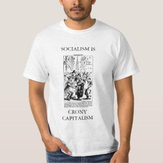 SOCIALISM IS CRONY CAPITALISM ~ MARX on Wall St. T-Shirt