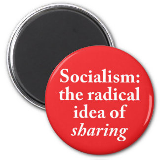 Socialism: the Radical Idea of Sharing Magnet