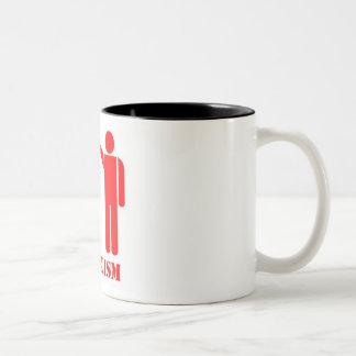 SOCIALISM Two-Tone COFFEE MUG