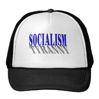 Socialism-Tyranny-Shirt Mesh Hats