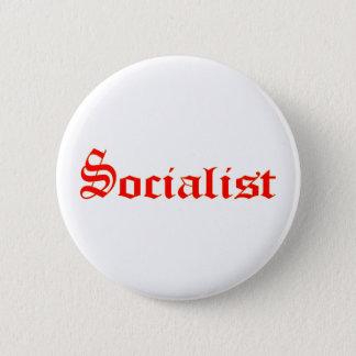 Socialist 2 Inch Round Button