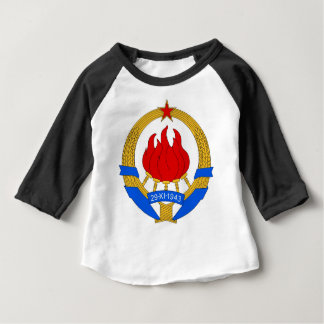 Socialist Federal Republic of Yugoslavia Emblem Baby T-Shirt