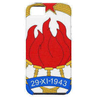 Socialist Federal Republic of Yugoslavia Emblem iPhone 5 Case