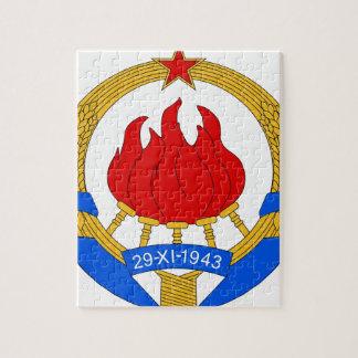 Socialist Federal Republic of Yugoslavia Emblem Jigsaw Puzzle
