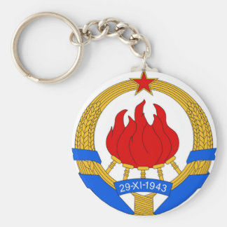 Socialist Federal Republic of Yugoslavia Emblem Keychain