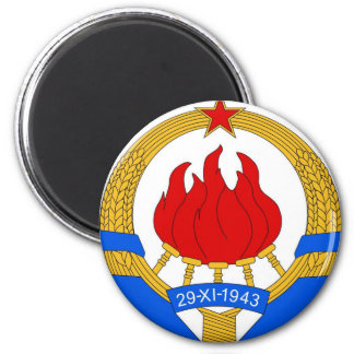 Socialist Federal Republic of Yugoslavia Emblem Magnet