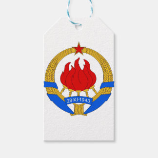 Socialist Federal Republic of Yugoslavia Emblem Pack Of Gift Tags