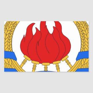 Socialist Federal Republic of Yugoslavia Emblem Sticker