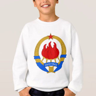 Socialist Federal Republic of Yugoslavia Emblem Sweatshirt