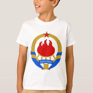 Socialist Federal Republic of Yugoslavia Emblem T-Shirt