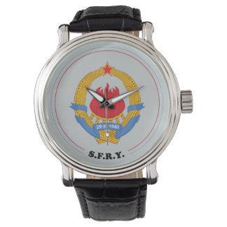 Socialist Federal Republic of Yugoslavia Emblem Watch