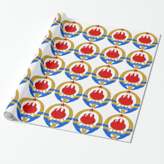 Socialist Federal Republic of Yugoslavia Emblem Wrapping Paper