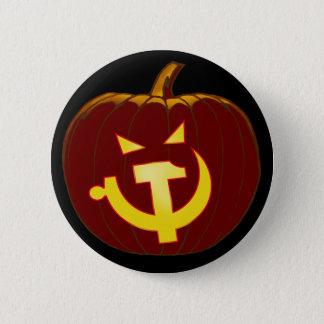 Socialist Jack-O-Lantern 2 Inch Round Button