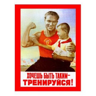 Socialist New Years Card 4