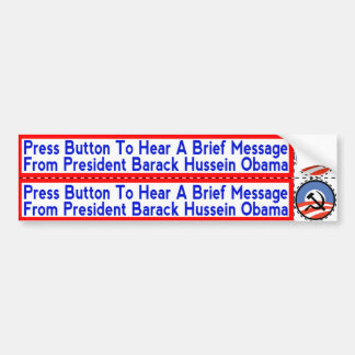 Socialist Obama Stickers to apply to Hand-Dryers