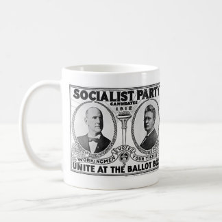 Socialist Party Candidates 1912 Coffee Mug