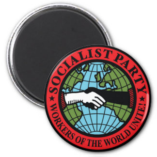 SOCIALIST PARTY USA MAGNET