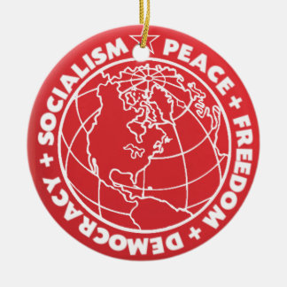 Socialist Peace Ornament