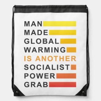 Socialist Power Grab Cinch Bag